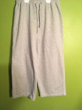 Soho Lady Gray Womens Small Sweatpants - Capri