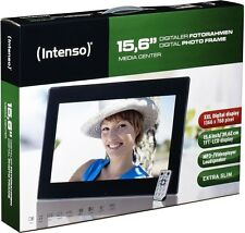 Intenso digitaler Bilderrahmen Video Photo Frame Media Center 15,6 Zoll