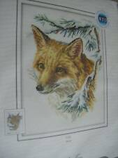 Fox Cross Stitch Kit- 9x11.5 Inches RTO