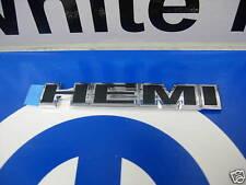 Chrysler Dodge Jeep Chrome & Black Hemi Decal Emblem Nameplate Mopar OEM New