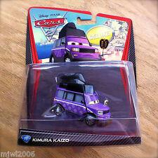 Disney PIXAR Cars 2 KIMURA KAIZO diecast DELUXE Sumo referee #11 ref Tokyo van