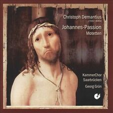 Demantius: La Passion Selon St Jean, New Music