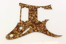 Replacement Pickguard fits Ibanez (tm) RG7620  Brown Pearl UV 7 string