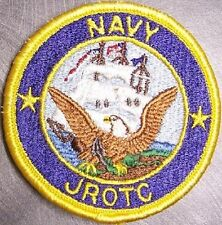 Embroidered Military Patch U S Navy Junior ROTC NEW Reserve Office Training NEW
