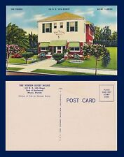 US FLORIDA MIAMI THE VEREEN GUEST HOUSE 312 NE 18TH STREET LINEN CARD CIRCA 1940