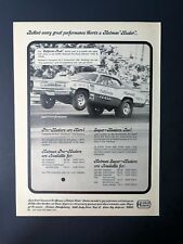 Vintage 1971 Hedman Hedders Butch Leal The California Flash Full Page AD