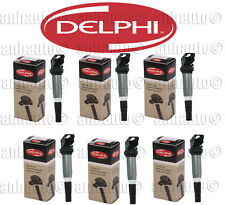 Set of 6 DELPHI Ignition Coil's for BMW + Mini   (GN10571) 12138616153