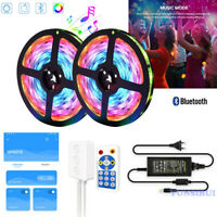 5M 10M SP601E Bluetooth RF Music Control Dream Color 12V WS2811 RGB LED Strip