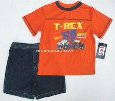 45% OFF! AUTH KIDS HEADQUARTERS 2-PC TEE SHORTS SET SZ 3T / 3-4 YRS BNWT $14.99