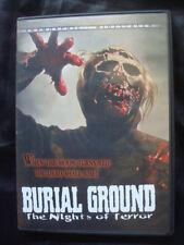 1981 **BURIAL GROUND The Nights of Terror** DVD *Very RARE Italian ZOMBIE HORROR