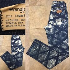 "Vintage Wrangler Jeans High Waist Crisscross Made In Usa Sz 12 29"" Waist"