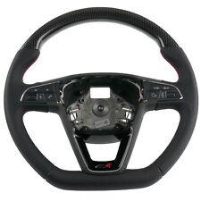 Carbon Leder-Lenkrad passend für Seat Leon 5F SC ST Cupra R (12+) DSG