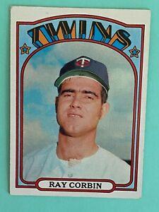 Topps 1972 #66 Ray Corbin - Minnesota Twins