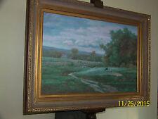 "A.Wilson Listed Artist ""Excellent"" Original Oil On Canvas Landscape Painting"