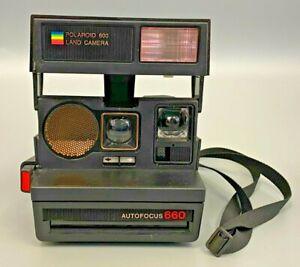 Polaroid 660 Autofocus camera - includes shoulder strap - (LEY)