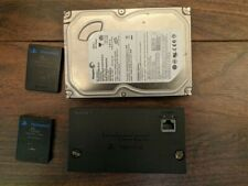 Sony Playstation 2 Network / HDD Addon + 160GB Drive + 2x Memcards w/ McBoot