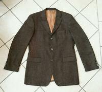 """HUGO BOSS  """"Rosselini""""  Sakko Jacket   Gr. DE 50 Gr. DE 98  braun  Seide & Wolle"""