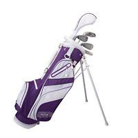 Merchants Of Golf 22530 Tour X Size 2 Purple 5pc Jr Golf Set W/stand Bag
