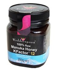 Wedderspoon RAW Manuka Honey KFactor 12 250g