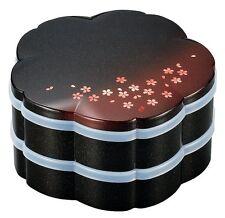 HAKOYA Lunch Bento Box 54790 Akane Sakura Cherry Blossoms Red MADE IN JAPAN