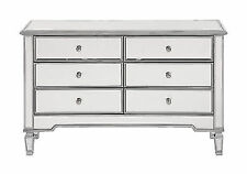Elegant Lighting Chamberlan 6 Drawer Mirrored Dresser