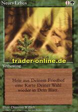 Neues Leben (Regrowth) Magic limited black bordered german beta fbb foreign deut