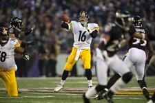 CHARLIE BATCH PITTSBURGH STEELERS COLOR 8X10 VS RAVENS  2012