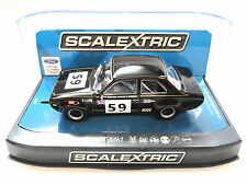 "Scalextric ""Alex"" Ford Escort Mk1 DPR W/ Lights 1/32 Scale Slot Car C3748"