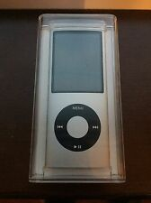 Apple iPod nano 4th Generation Silver (16GB) New