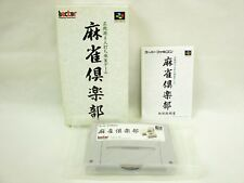 MAHJONG CLUB Super Famicom Nintendo Japan Boxed Game sf