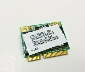HP PAVILION DV4 LAPTOP WIFI WIRELESS CARD BOARD