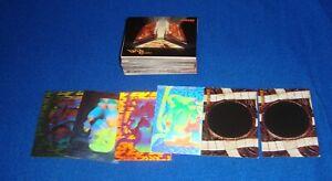 JUMANJI  Trading Cards 90 Card Base Set, + 4 Holograms, 2 Disappearing Ink