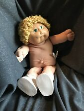 Cabbage Patch Kids Jesmar Boy Blond Hair green eyes