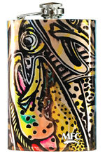 Montana Fly Company Mfc Estrada'S Rainbow Trout Graffiti Stainless Steel Flask