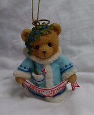 NEW Cherished Teddies 2012 Wishing You A Heavenly Holiday 4023641 Ornament Bell