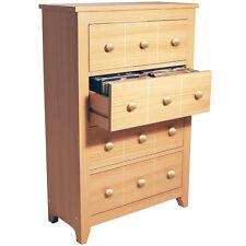 228 CD / 104 DVD / Blu-ray / Media Storage Drawer Unit - Beech MS1241