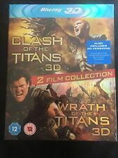 Clash Of The Titans/ Wrath Of The Titans 3D Blu Ray Boxset