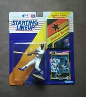 1992 Kenner Starting Lineup Ruben Sierra Action Figure Trading Card & Poster