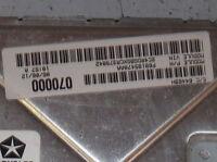 2012 12 200 AVENGER 3.6L COMPUTER BRAIN ENGINE CONTROL ECU ECM MODULE UNIT