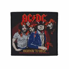 AC/DC - HIGHWAY TO HELL PATCH - Official Sew On Patch - NEW - Metal
