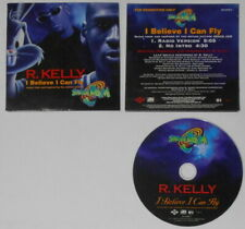 R. Kelly - I Believe I Can Fly - 1996 U.S. promo cd  Card cover