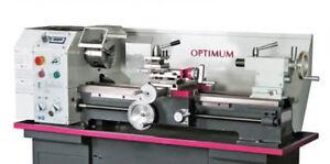 OPTIMUM Leitspindeldrehmaschine OPTIturn TU 2807V Drehmaschine Vom Fachhändler!