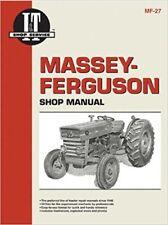 Massey-Ferguson MF135, MF150 and MF165 I&T Shop Manual MF27