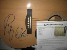 ROGER WATERS SIGNED GUITAR PINK FLOYD AUTOGRAPH THE WALL JSA LETTER PROOF