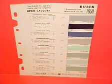 1950 BUICK ROADMASTER 70 SUPER 50 SPECIAL 40 SEDAN COUPE CONVERTIBLE PAINT CHIPS