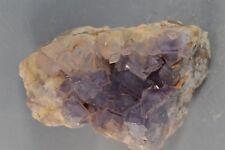 Cristaux de Fluorite Mapimi Mexique mineraux collection 80x60mm Fluorine
