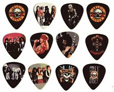12 puas de guitarra guns'n roses uñetas medium 2 caras rock medium namapup slash
