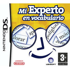 Nintendo DS Region mi experto en vocabulario