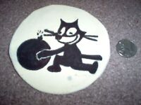 WWII US Navy Squadron patch Felix the cat