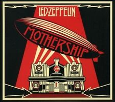LED ZEPPELIN (MOTHERSHIP - DELUXE EDITION 2CD/DVD 3 DISC SET SEALED + FREE POST)